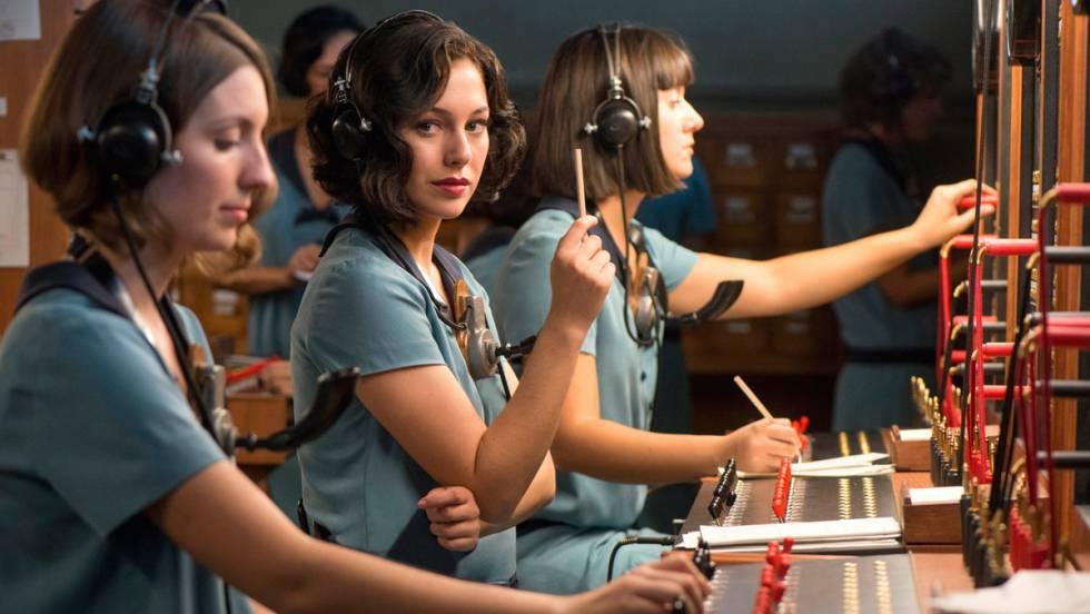Blanca Suárez, en 'Las chicas del cable', de Netflix.