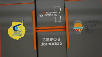 81-97: El Valencia se clasifica a costa del 'Granca' y deja fuera al Madrid 7