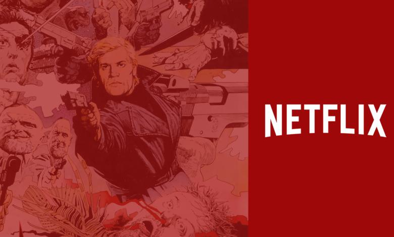 Netflix adaptará 'Button Man: Get Harry Ex' por 'Judge Dredd' Creator 1