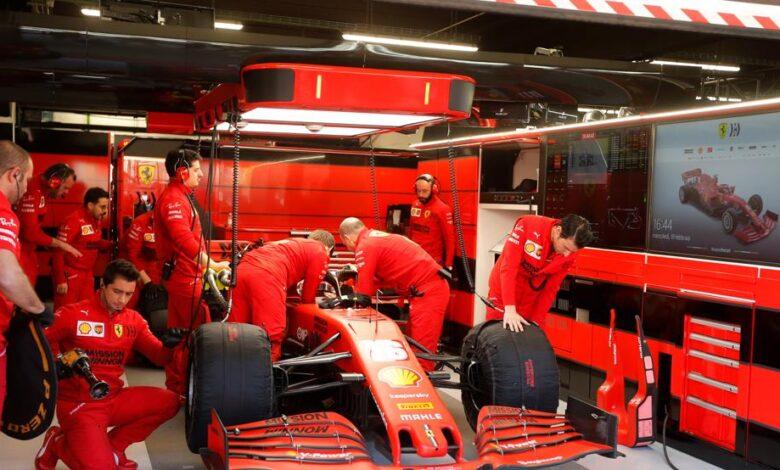Ferrari, sin mejoras hasta Hungría 1