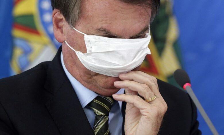 Photo of Coronavirus en Brasil: Bolsonaro vetó el uso obligatorio de barbijos en iglesias y comercios