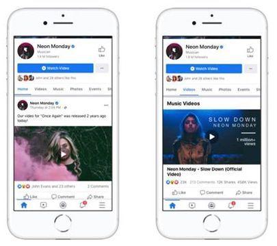 Facebook lanzará videos musicales con licencia oficial en los Estados Unidos el próximo mes 4