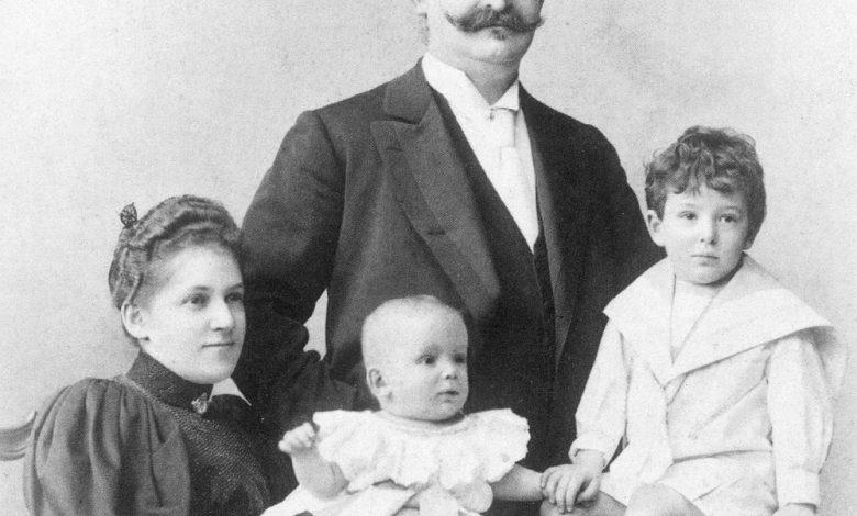 El álbum familiar de Walter Benjamin 1
