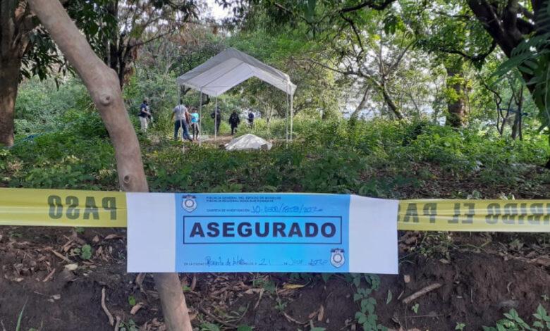 Tardan en resguardar la fosa clandestina encontrada en Morelos 1