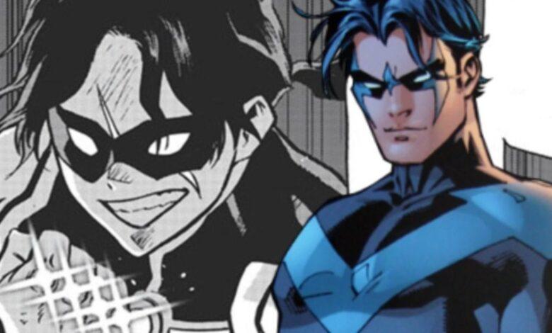 My Hero Academia sorprende con el villano Nightwing Easter Egg 1