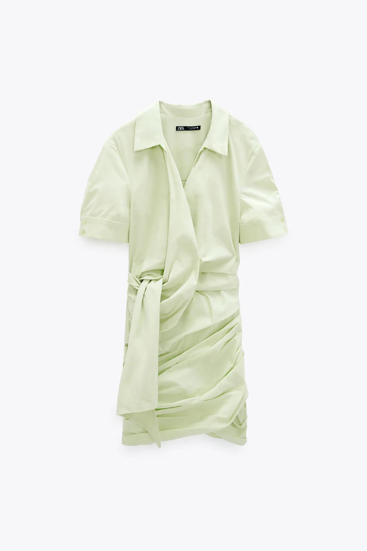 El vestido de Zara ideal para las vacaciones te favorece y no necesita plancha
