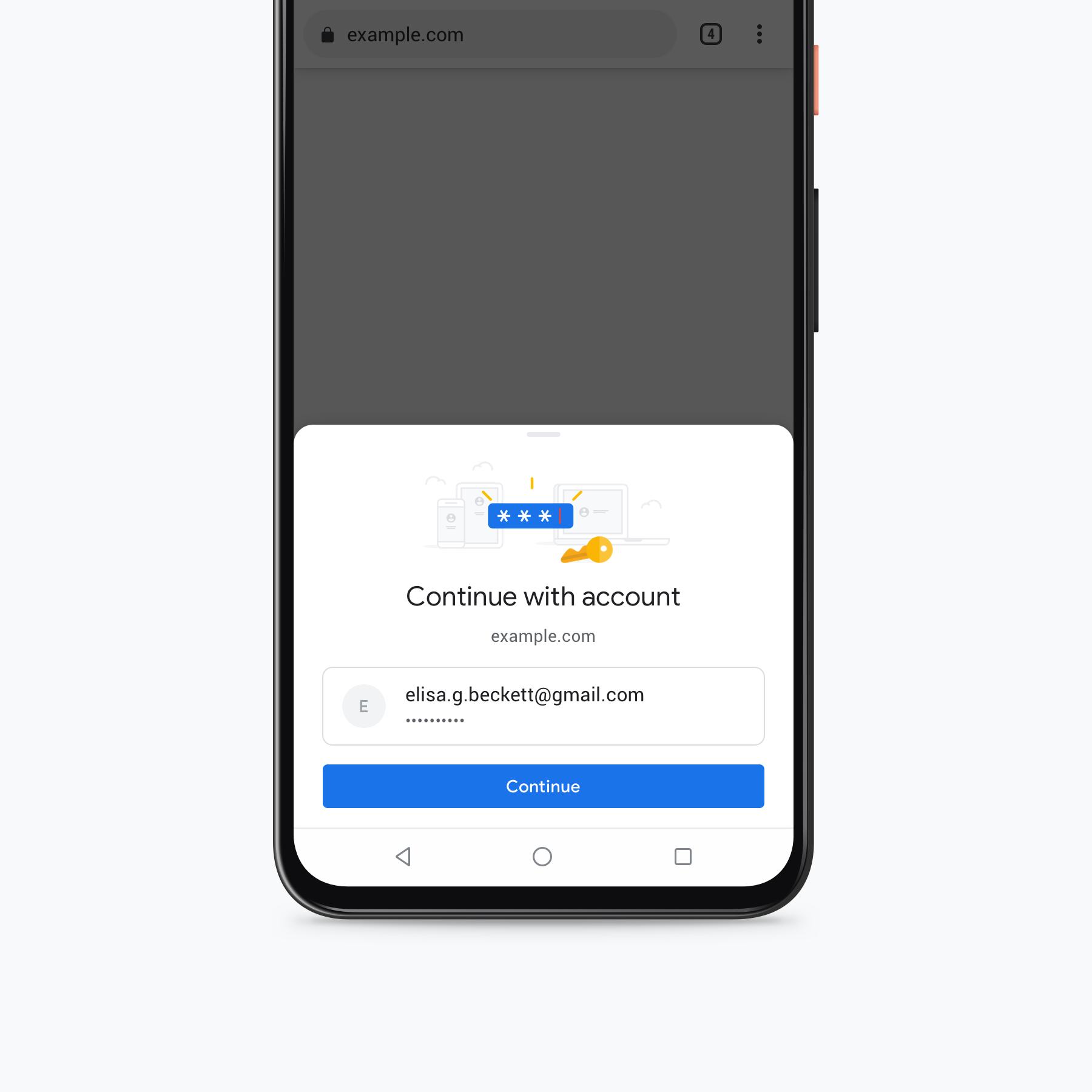 Google está haciendo que el autocompletar en Chrome para dispositivos móviles sea más seguro 2