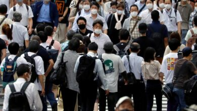Japón se resiste a volver al estado de alarma pese a récord diario de Covid-19