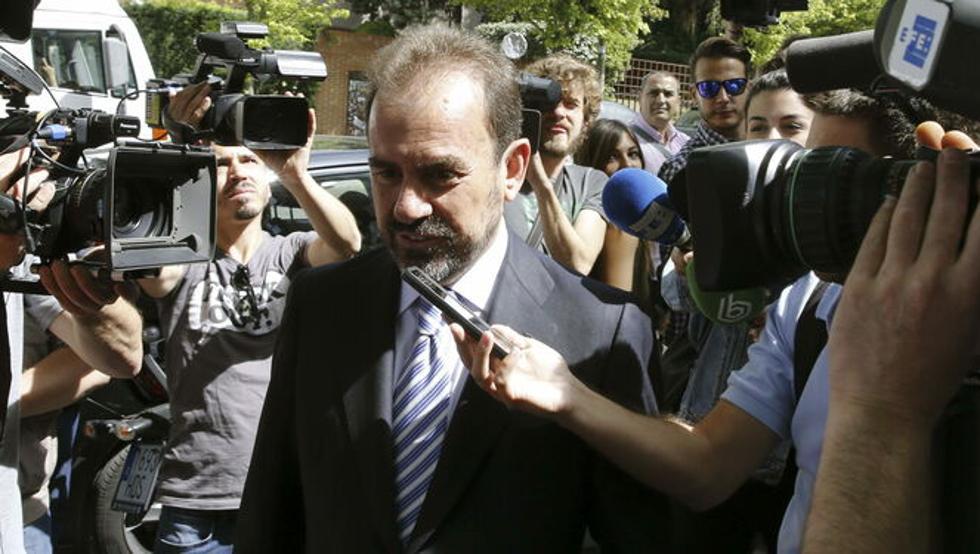 Ángel Torres critica el arbitraje al Getafe 1