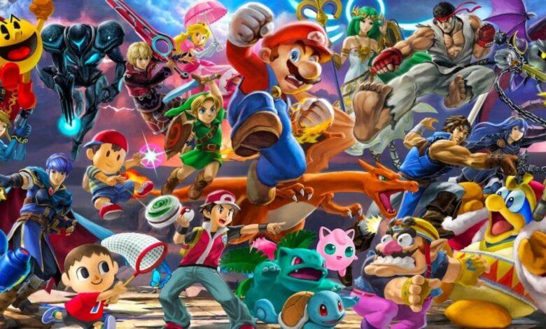 Aquí está cada personaje de Super Smash Bros.Ultimate como LEGO 1