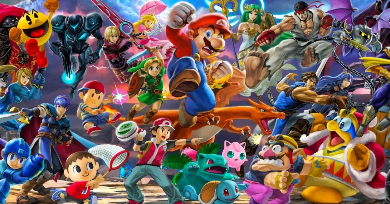 Aquí está cada personaje de Super Smash Bros.Ultimate como LEGO 2