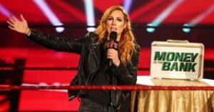 Becky Lynch dice que lanzó para perder el Raw Women's 1
