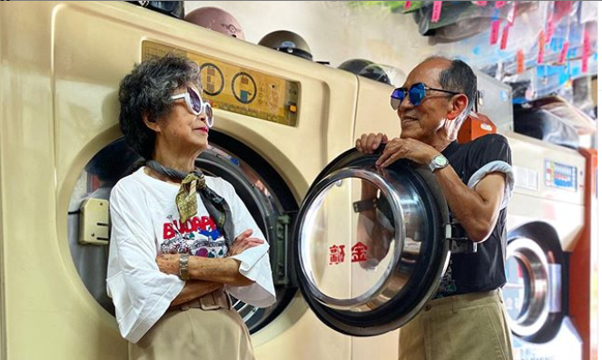 De una lavandería de Taiwan a iconos de moda en Instagram con más de 80 años 2