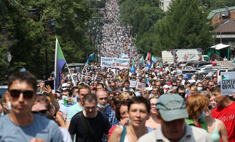 El Lejano Oriente ruso clama su frustración contra el Kremlin 1