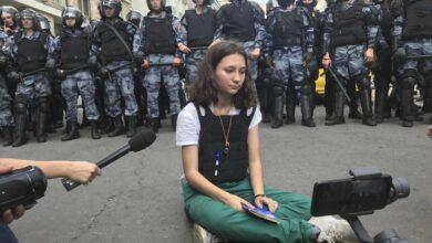 Photo of El señorial distrito-protesta del corazón de Moscú