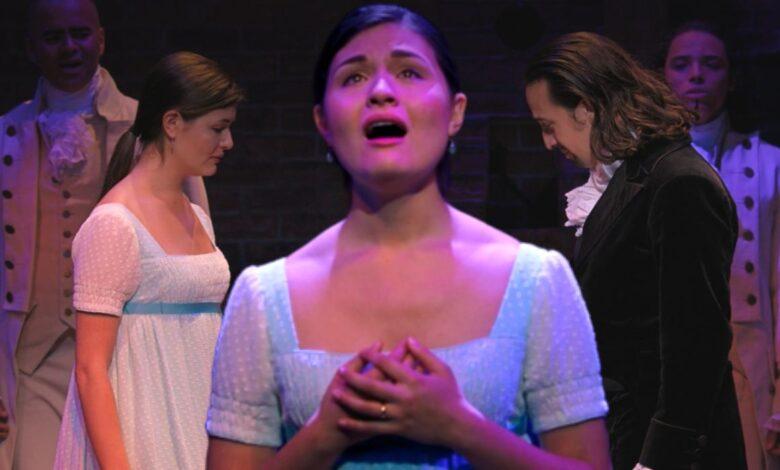 Hamilton: ¿Por qué Eliza jadea al final del musical? Screen Rant