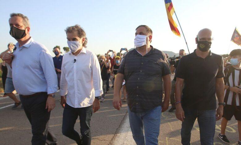 La Fiscalía recurre también la semilibertad de Josep Rull, Jordi Turull y Dolors Bassa 1