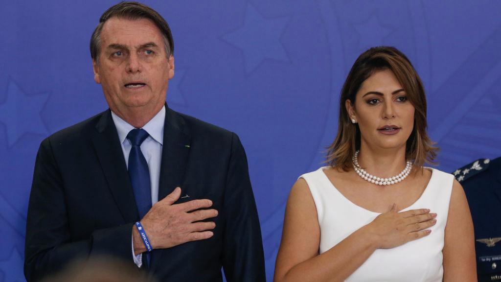 La esposa de Bolsonaro contrajo el coronavirus 1