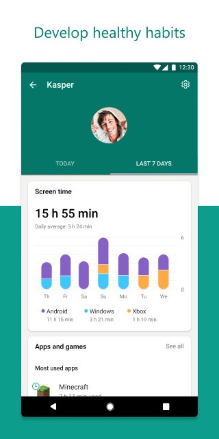 La nueva aplicación de seguridad familiar de Microsoft ofrece controles parentales en teléfonos, PC y Xbox 1