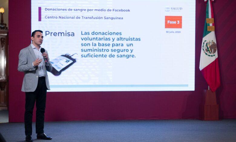 Lanzan estrategia en Facebook para promover donación de sangre en México |Video 1