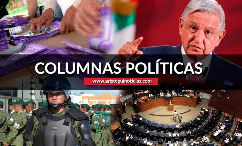 La Comisión Permanente, violencia de género y la 4T | Columnas políticas 15/07/2020 1