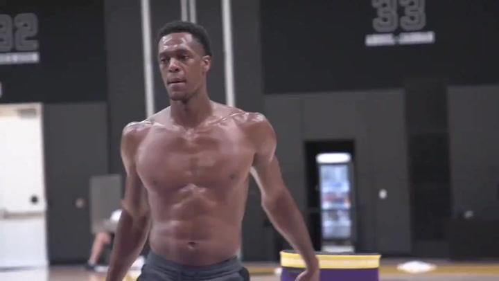 Otro escándalo en el gimnasio: Rondo se apunta a los cuerpos de confinamiento NBA 1