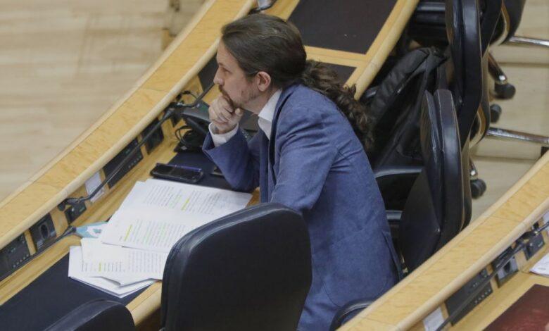 PP, Cs y Vox forzarán la convocatoria de la Diputación Permanente para interpelar a Iglesias por el 'caso Dina' 1