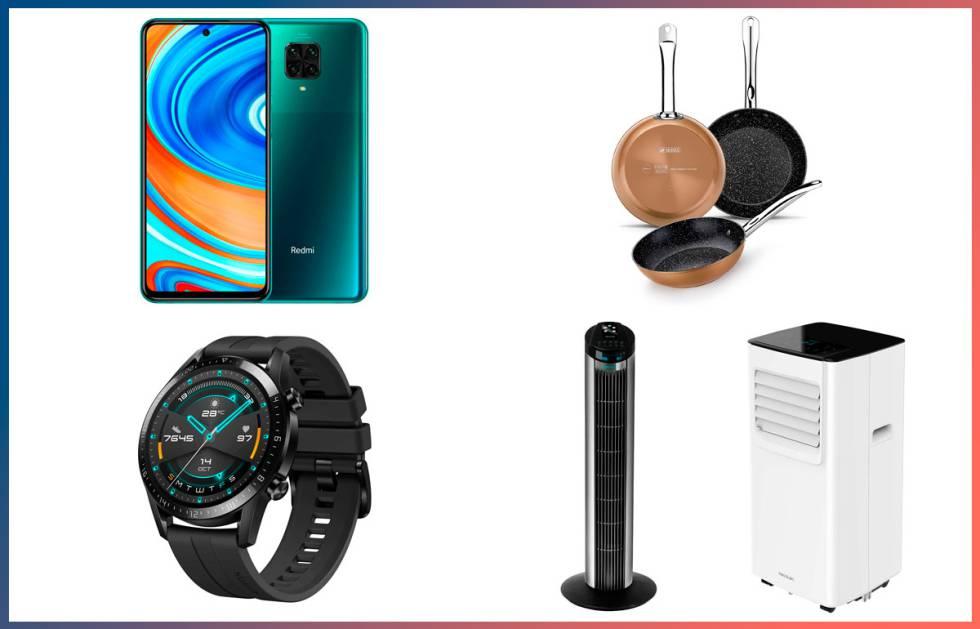 Un móvil Xiaomi, un aire acondicionado Cecotec y otras ofertas de hasta un 54% en AliExpress Plaza 2