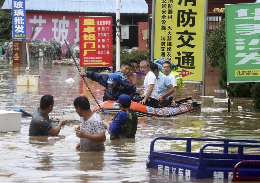 Wuhan, la ciudad que fue el epicentro del COVID-19, ahora es azotada por inundaciones 1