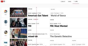 YouTube TV aumenta sus precios de suscripción 1