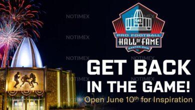 Photo of Salón de la Fama de la NFL reabrirá el 10 de junio