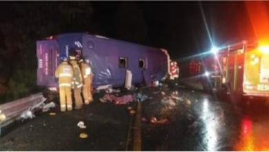 Photo of 13 muertos, fatal accidente, vuelca camión de pasajeros de la línea Futura, iba a Puerto Vallarta