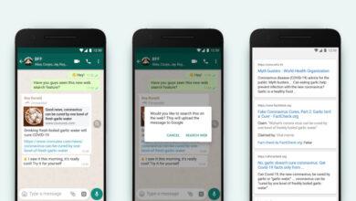 Photo of La nueva característica de los pilotos de WhatsApp para combatir la desinformación: buscar en la web