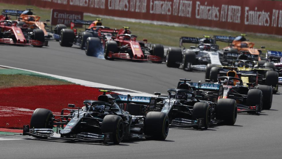 Photo of Así ha sido la salida del GP 70 aniversario F1