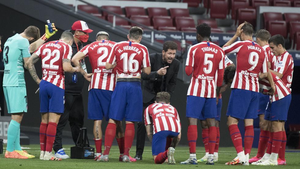Photo of El Atlético comunica dos positivos por coronavirus