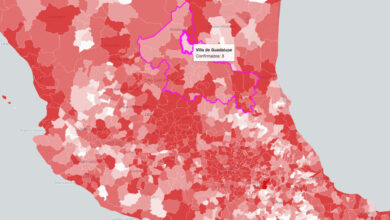 Photo of Estos son los 20 municipios con más casos activos de Covid-19