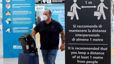 Italia cierra sus fronteras a trece países ante aumento de contagios