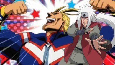Photo of My Hero Academia canaliza Jiraiya interior de All Might en el nuevo crossover de Naruto