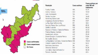Photo of Querétaro, entre los 20 municipios con más casos activos de Covid-19 en todo el país