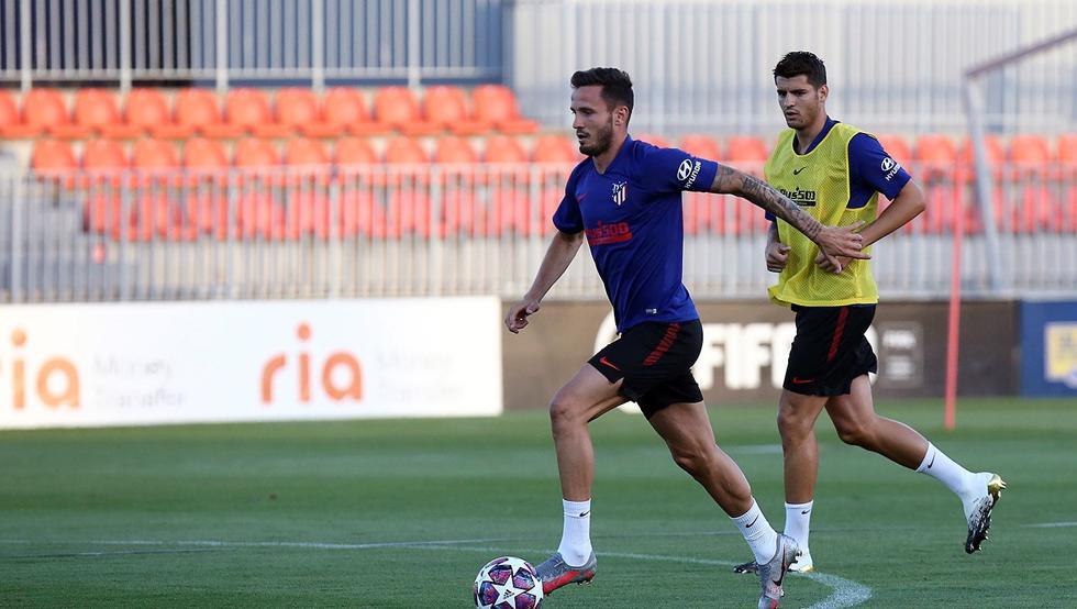 """Photo of Saúl: """"Nos tenemos que preparar para 120 minutos contra el Leipzig"""""""