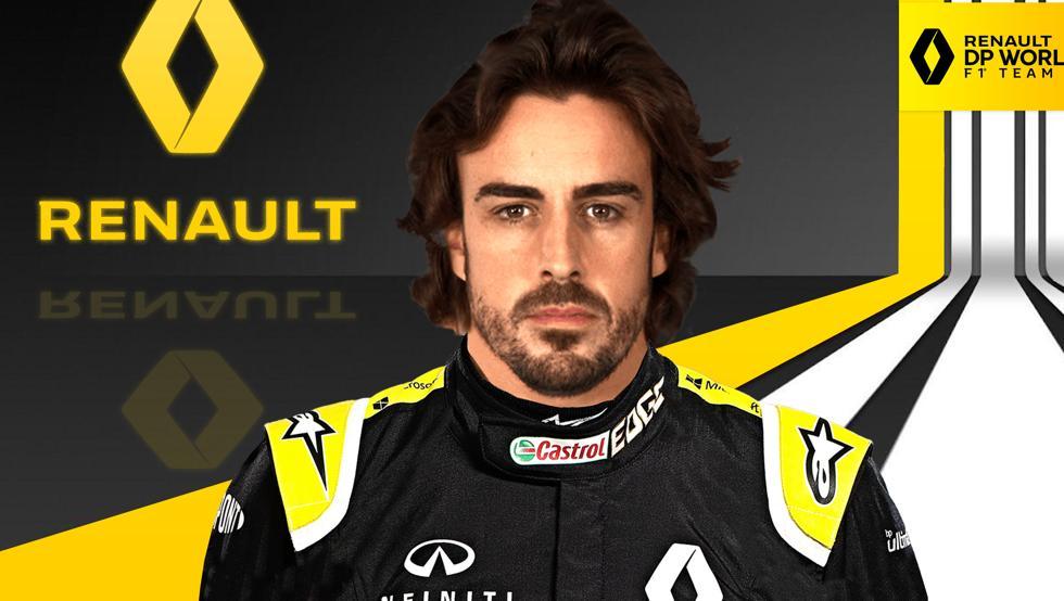 Alonso revela cómo se gestó su fichaje por Renault 9