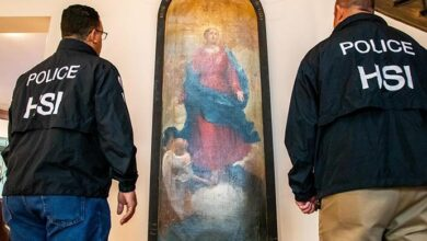 ICE halla en Dallas antigua pintura robada de un monasterio italiano 7