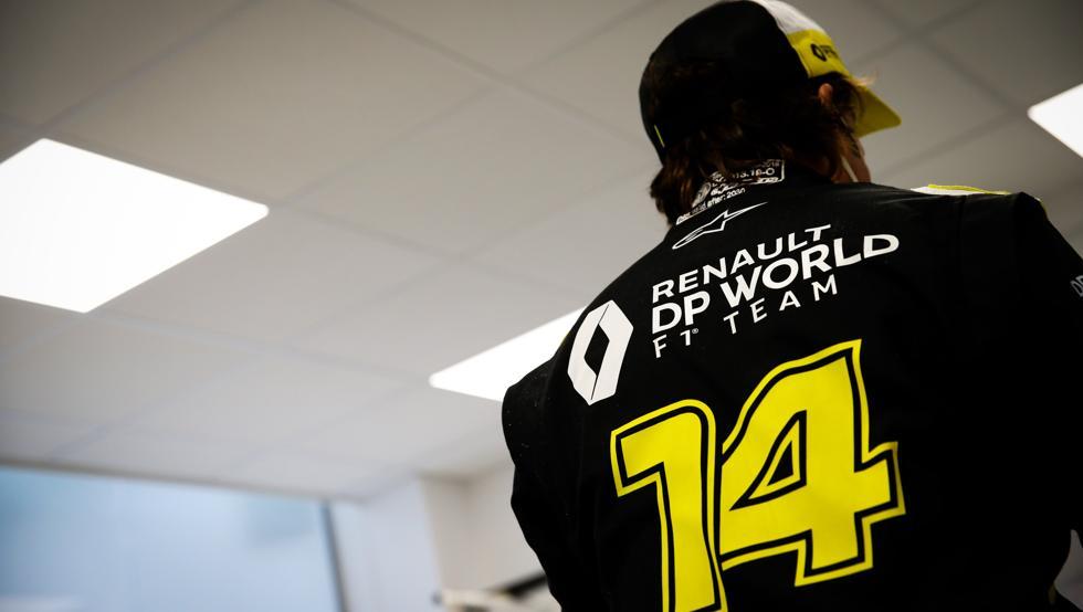 Alonso, cada vez más ilusionado con un Renault de podio 8