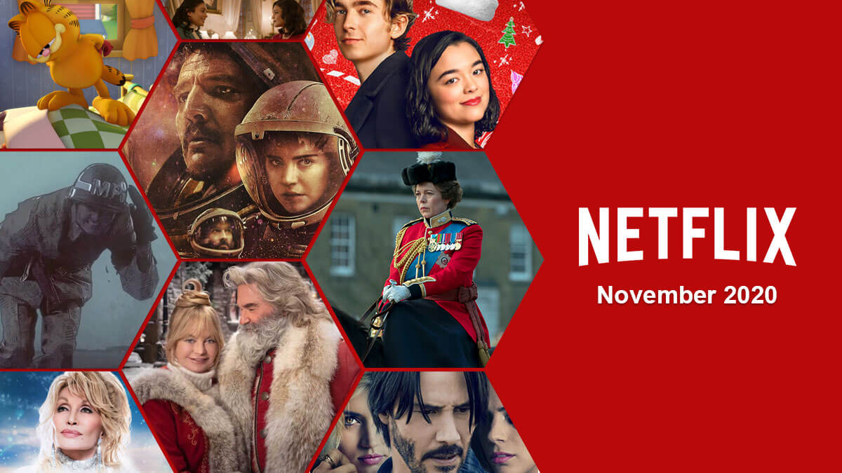 Lo que llegará a Netflix en noviembre de 2020 1