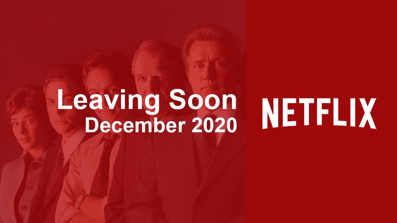 Películas y series de televisión que dejarán Netflix en diciembre de 2020 1