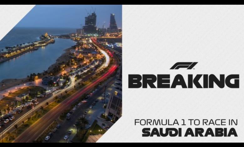 F1: Se sumará el Gran Premio de Arabia Saudita al calendario 2021