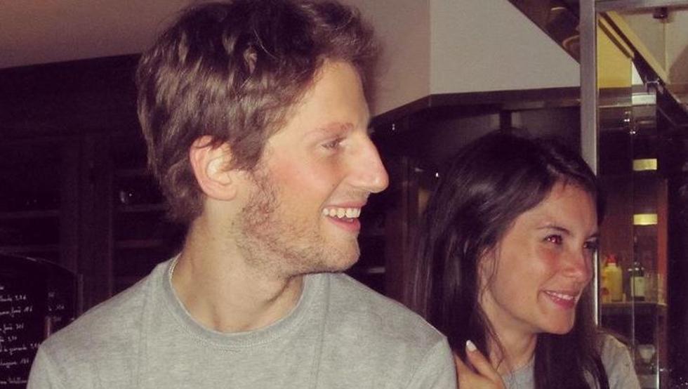 """La mujer de Grosjean: """"Nuestros hijos lo sacaron del incendio"""" 1"""