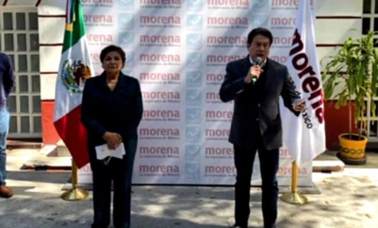 Mario Delgado anuncia coalición electoral de Morena con Nueva Alianza 1