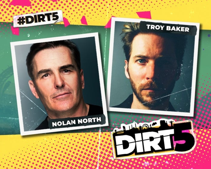 Nolan North Talks de Dirt 5 lleva la narrativa a las carreras - La Neta Neta