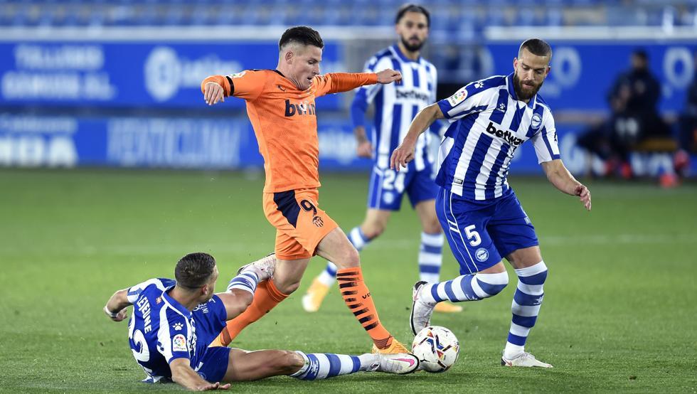 Pacheco, fastidiado por el empate ante el Valencia 10